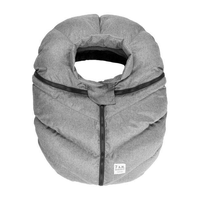 Car Seat Cocoon, Heather Grey
