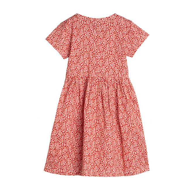Pippa Jersey Dress, Pink Ditsy Floral