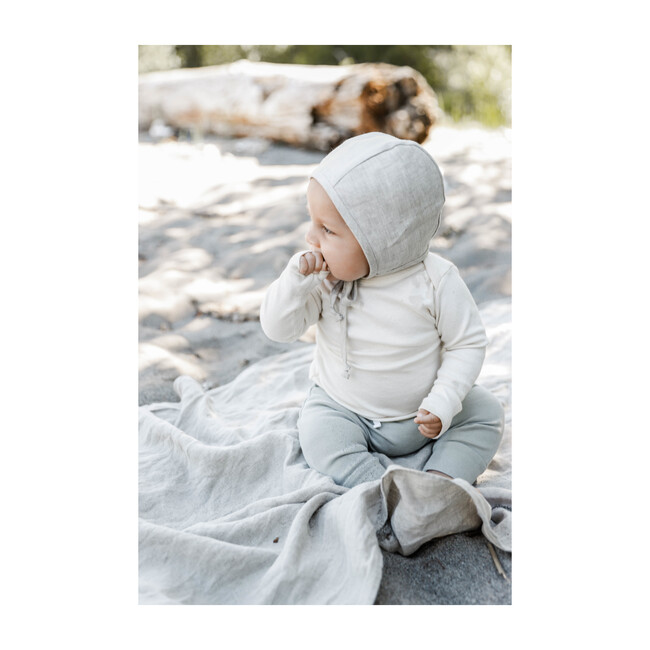 Sand Linen Bonnet