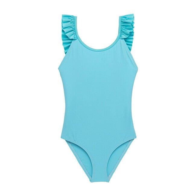 Bora Bora One Piece Swimsuit, Light Blue