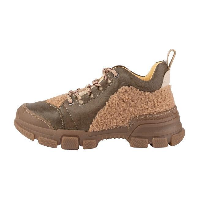 *Exclusive* Runner Sneaker, Khaki & Cream
