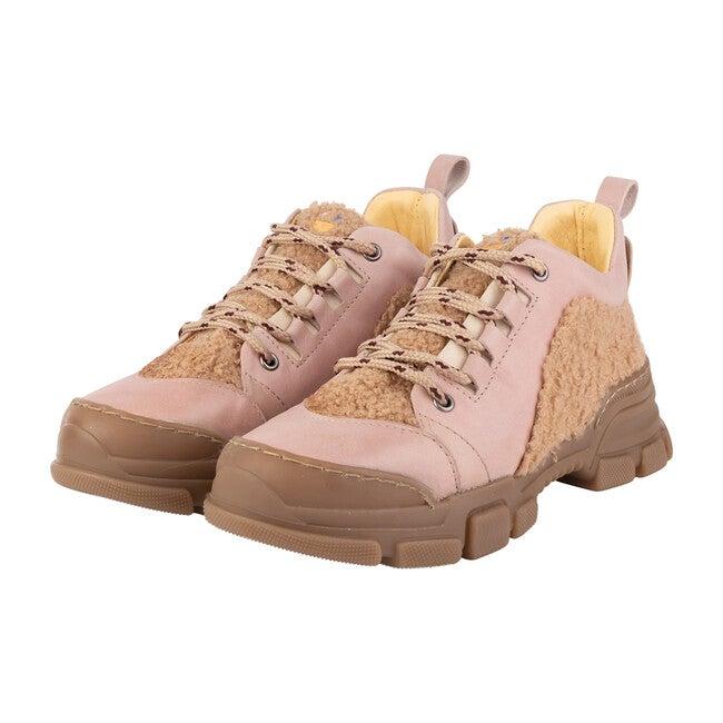 *Exclusive* Runner Sneaker, Pink & Cream