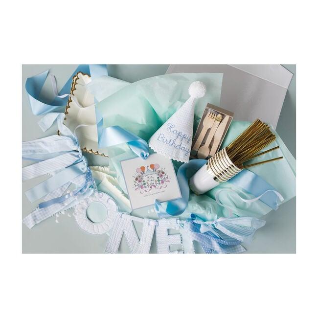 First Birthday Bundle, Blue