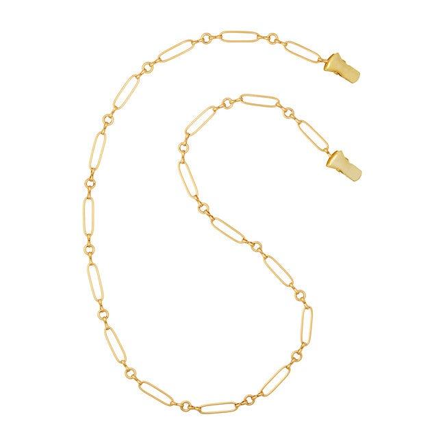 Sunshine Mask Chain, Gold