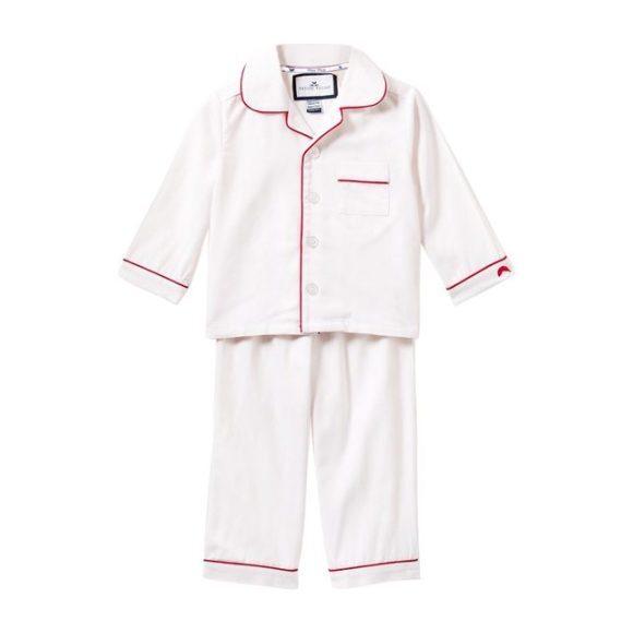 White Pajamas, Red Piping