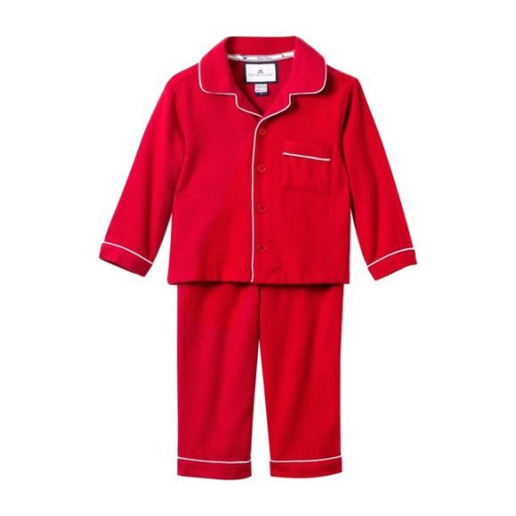 Classic Red Flannel Pajamas