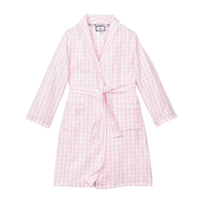 Pink Gingham Robe