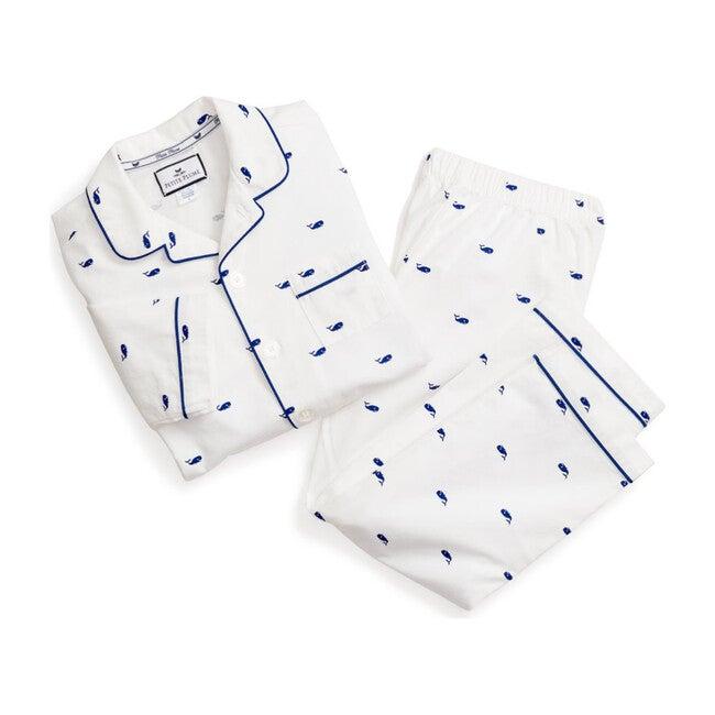 Pajama Set, Whales - Pajamas - 1