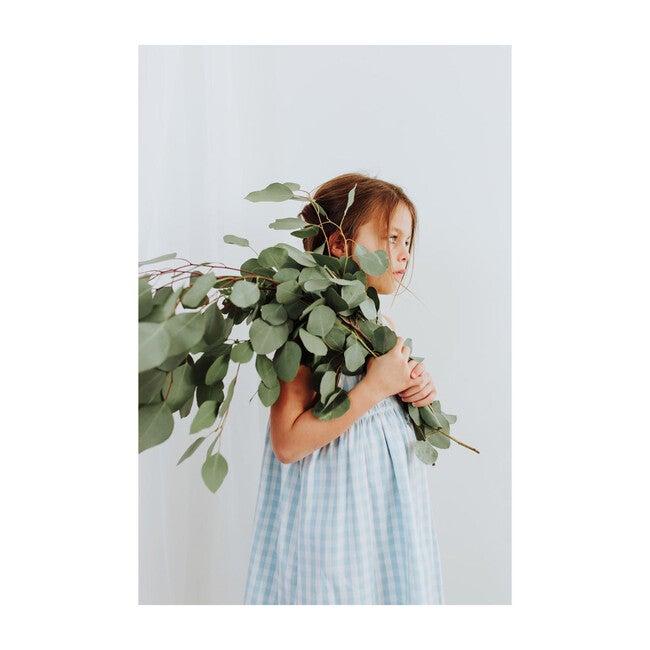 Light Blue Gingham Charlotte Nightgown