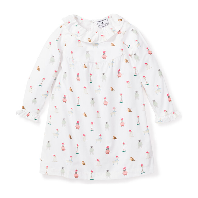 Girl's Scarlett Nightgown, Merry Menagerie