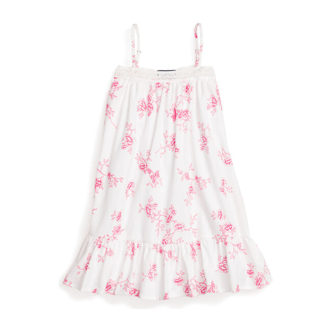 Floral Lily Nightgown, English Rose - Nightgowns - 1