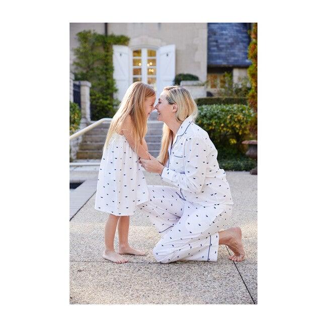 Women's Pajama Set, Whales