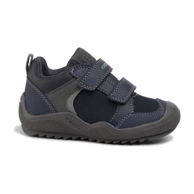 Artach Shoe, Navy & Grey