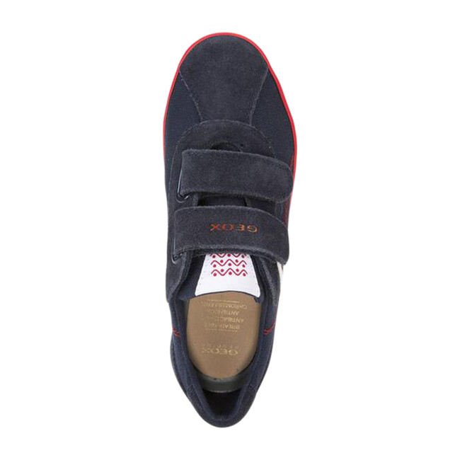 Junior Kilwi Sneakers, Navy & Red