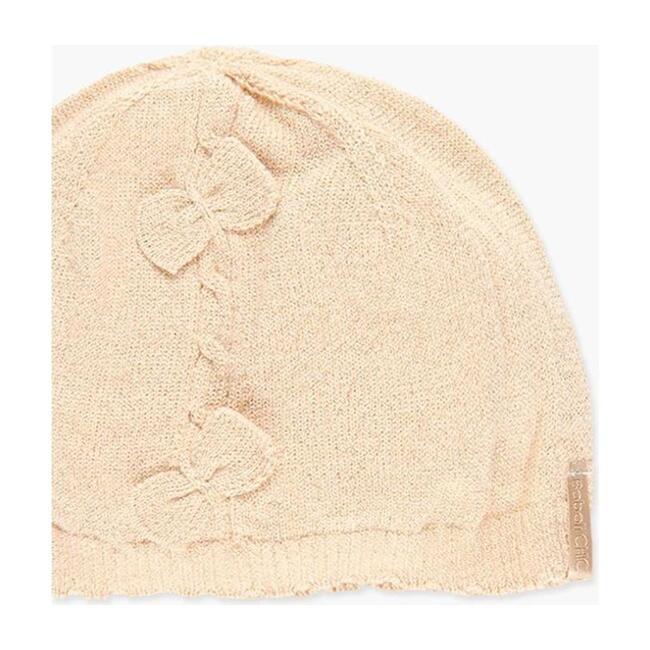 Knit Hat, Beige