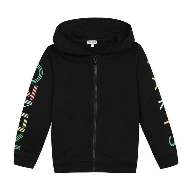 Zip Up Sweatshirt, Black