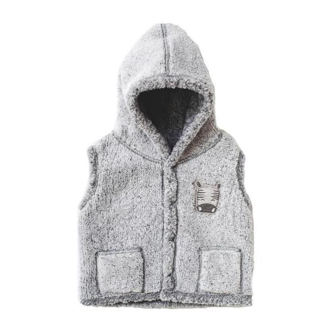 Zebra Soft Vest, Gray