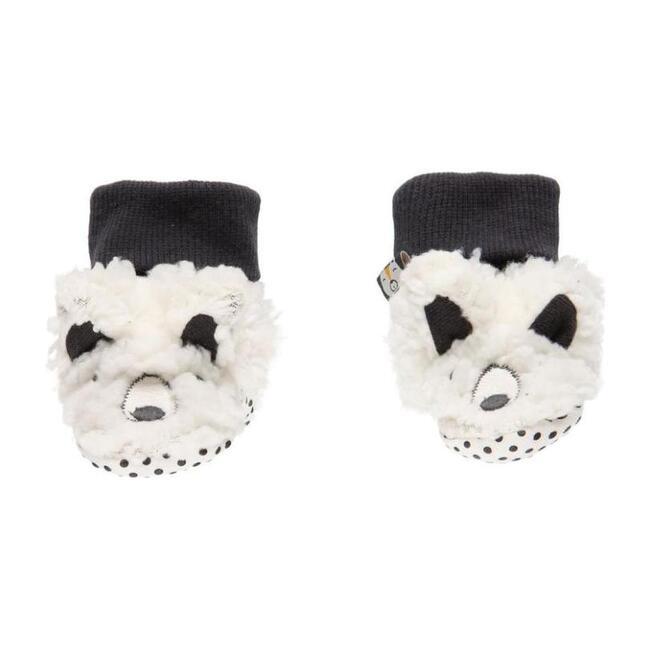 Sheep Theme Booties, Cream