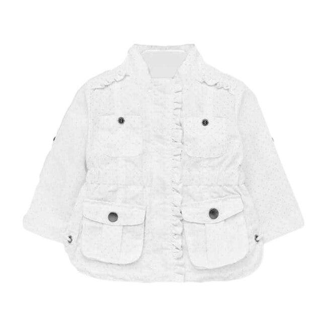 Windbreaker Jacket, White
