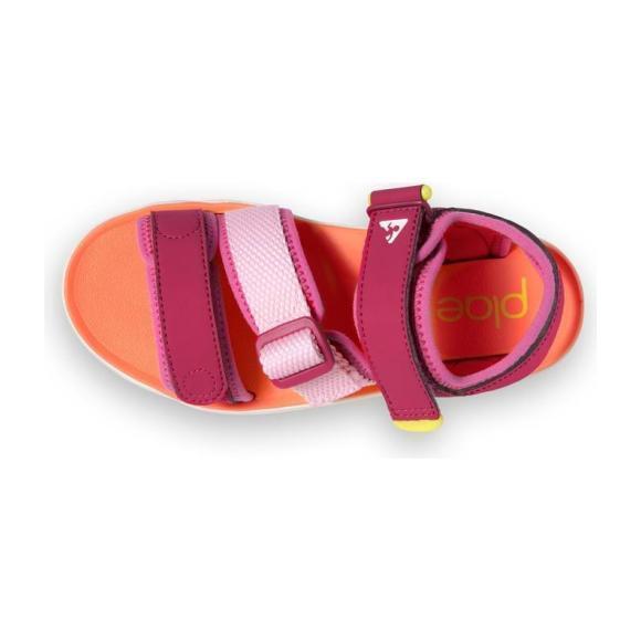 Wes Hibiscus Sandals, Pink