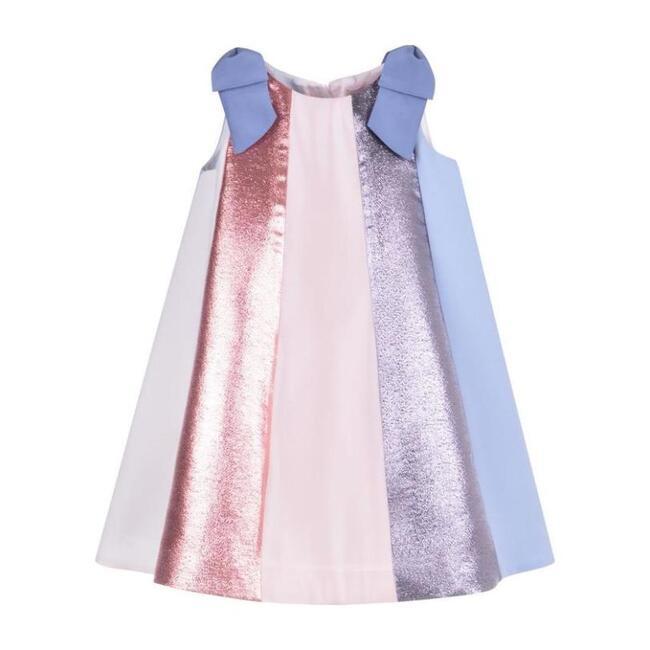 Rainbow Trapeze Dress, Multi