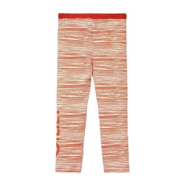 Stripe Taski Leggings, Red