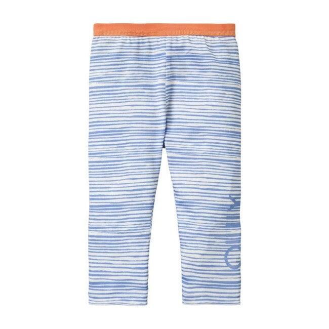 Stripe Taski Leggings, Blue