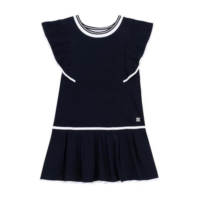 Peacoat Jersey Dress, Navy