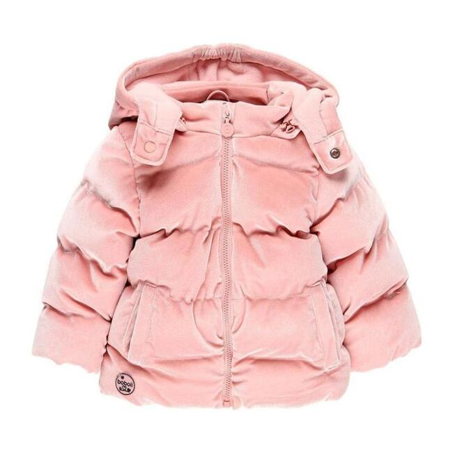 Padded Down Parka, Pink