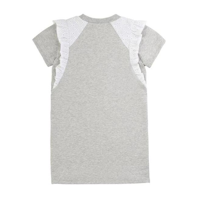 Melange Dress, Gray