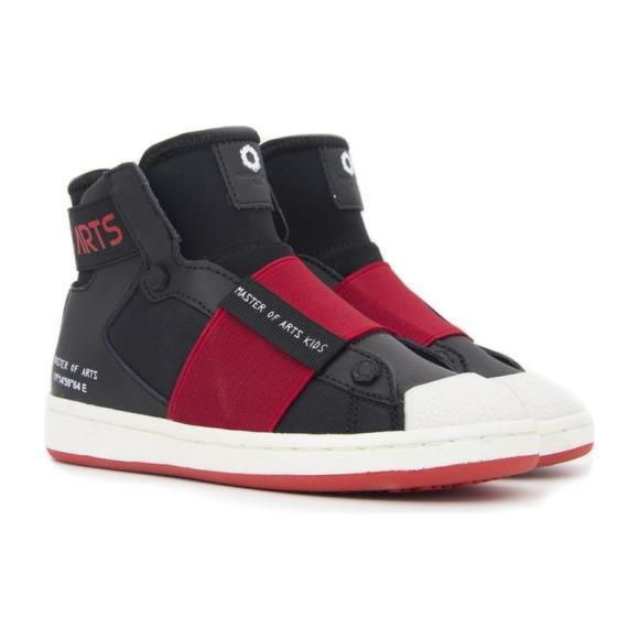 High Top Sneakers, Black