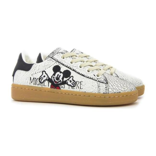 Mickey Mouse Sneakers, White