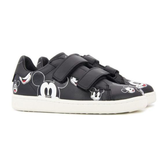 Mickey Sneakers, Black