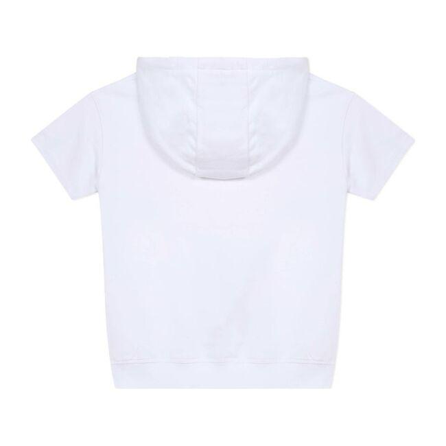 Logo Short Sleeve Sweatshirt, White