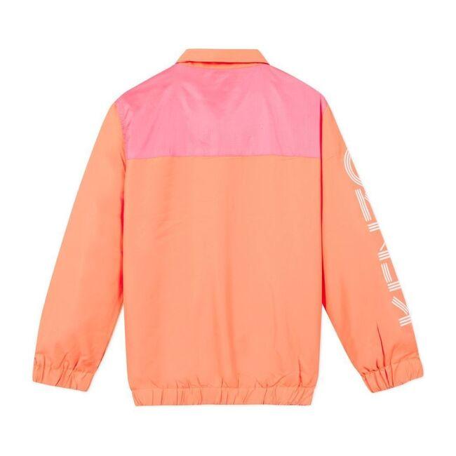 Nylon Logo Jacket, Orange