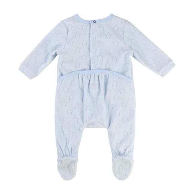 Unisex Baby Pajamas, Pale Blue