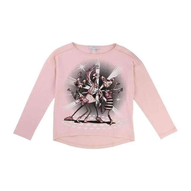 Dance Club T-Shirt, Pink