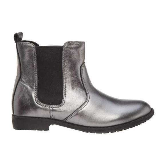 Ankle Boots, Silver