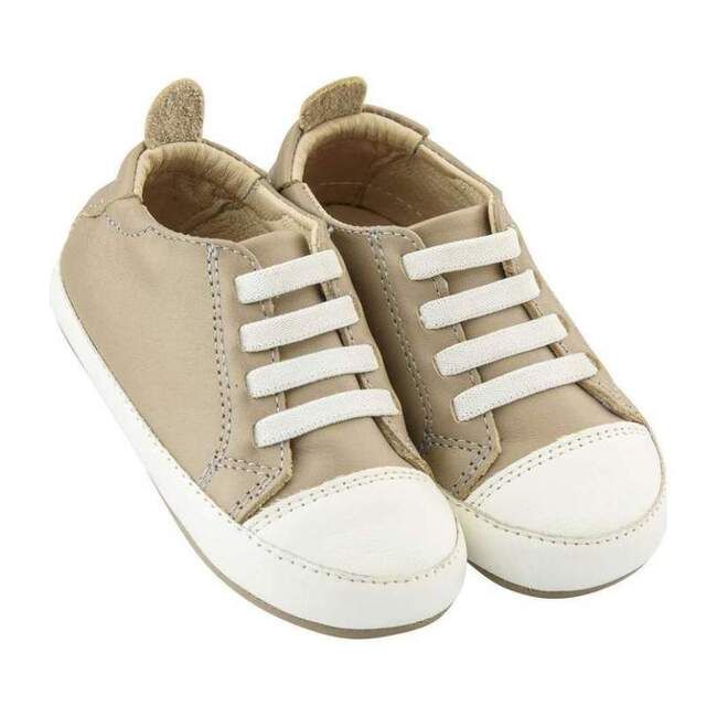 Eazy Tread Taupe Shoes, White