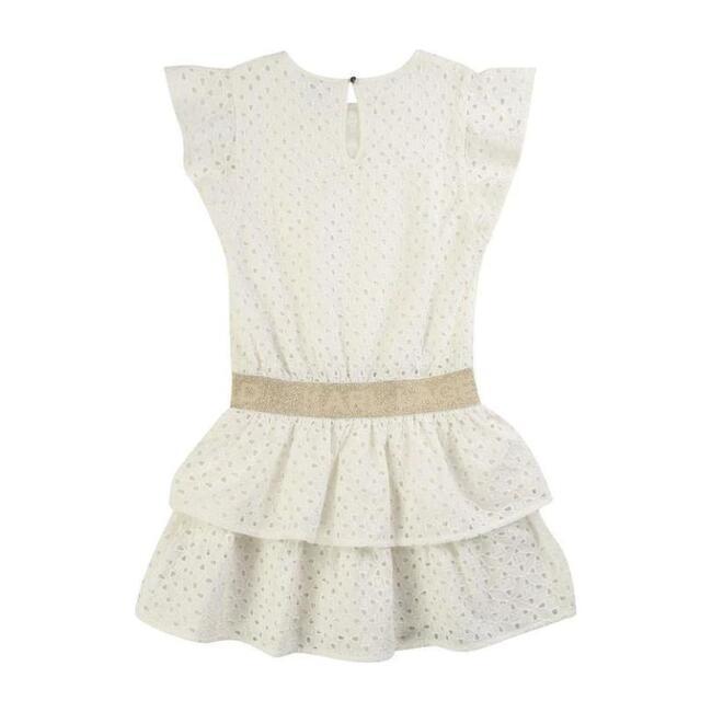 Lace Dress, White