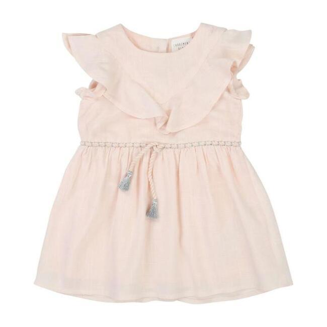 Ruffle Dress, Pink