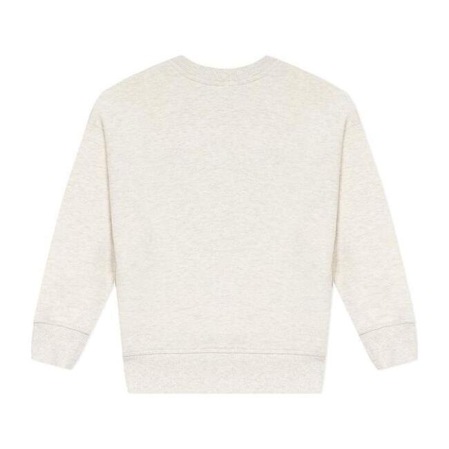 Graphic Logo Sweater, Beige