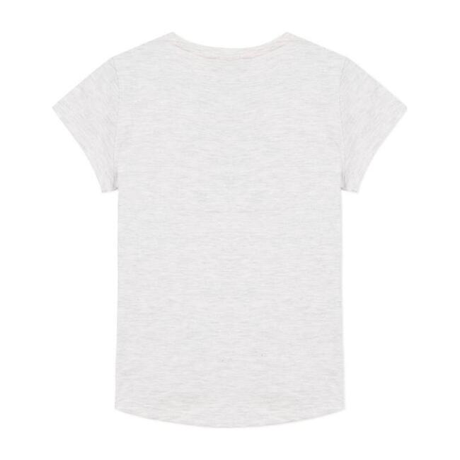 Floral Tiger T-Shirt, Light Gray
