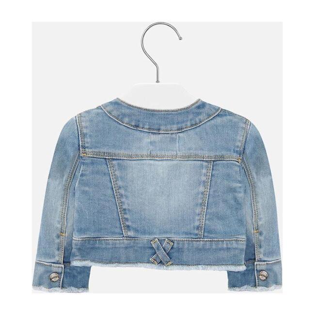 Faded Denim Jacket, Blue