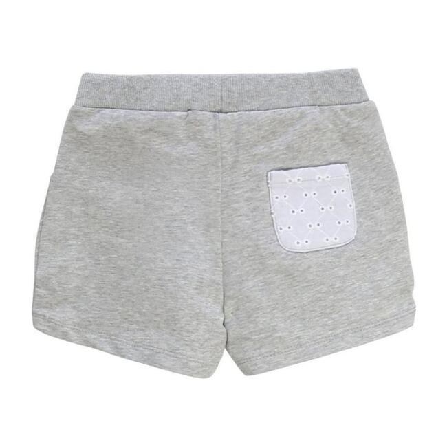 Drawstring Shorts, Gray