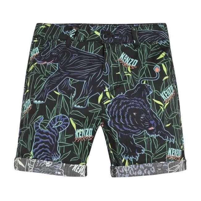 Disco Jungle Bermudas, Black
