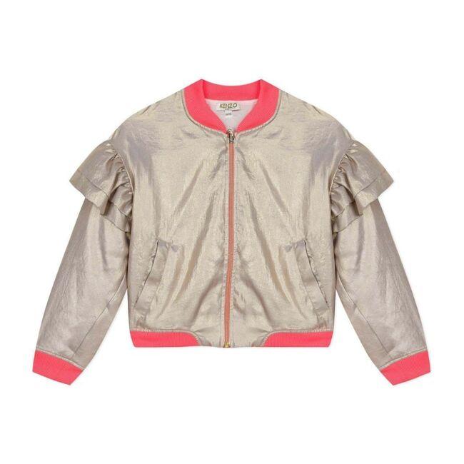 Bomber Jacket, Gold