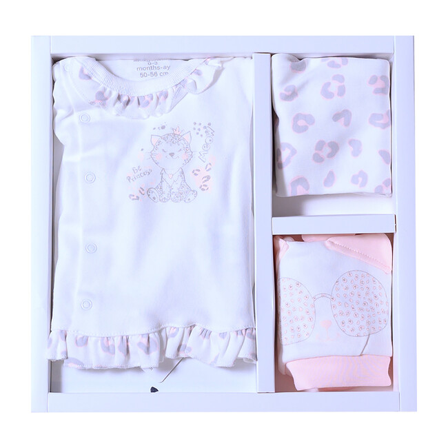 5pc Leopard Princess Homecoming Set, Pink