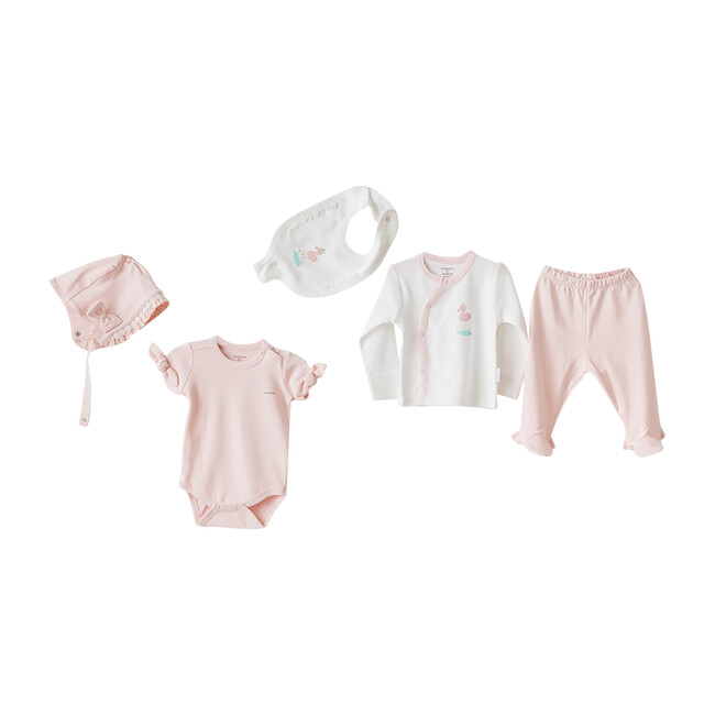 5pc Flamingo Homecoming Set, Pink