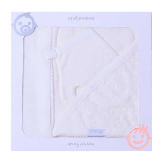 3pc Something Special Towel Set, Cream